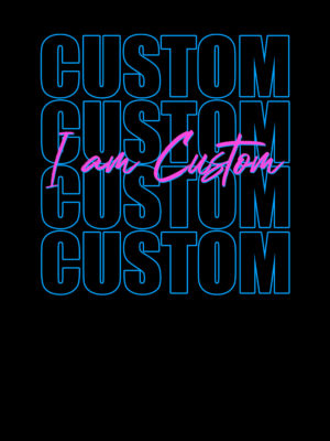 Customizable t-shirt hoodie